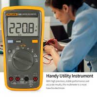FLUKE F15B+ Digital Multimeter professional 4000 Counts Portable Multimeter tester Handheld Voltmeter Ammeter Voltage Meter