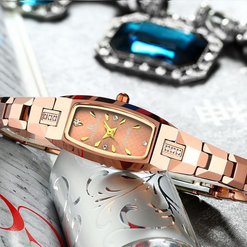 Bracelet Watch Tungsten-Steel Quartz Expression Waterproof Ultrathin Student Companion
