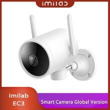 Imilab ec3 câmera inteligente ptz versão global ao ar livre à prova dwaterproof água ip66 hd 1080p visão noturna infravermelha cctv wifi xiaomi casa app