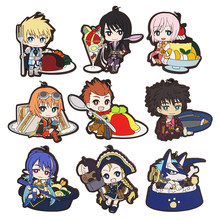 Tales Of Vesperia Game Yuri Lowell Flynn Scifo Repede Rita Mordio Raven Judith Patty Fleur Karol Capel Estelle Rubber Sleutelhanger(China)