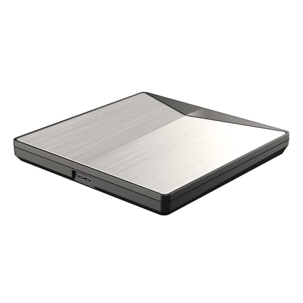 Przenośny Ultra-slim zewnętrzny napęd DVD USB3.0 Drive dla PC dla komputerów Mac DVD + wielokrotnego zapisu DVD/CD dynapro i * cept RW pisarz rejestrator palnika Hot