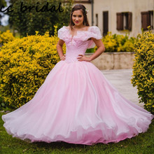 Ball-Gown Quinceanera-Dresses 16-Dress Puffy Formal 15-Anos Sweet Plus-Size Long De Vestidos-De-Festa