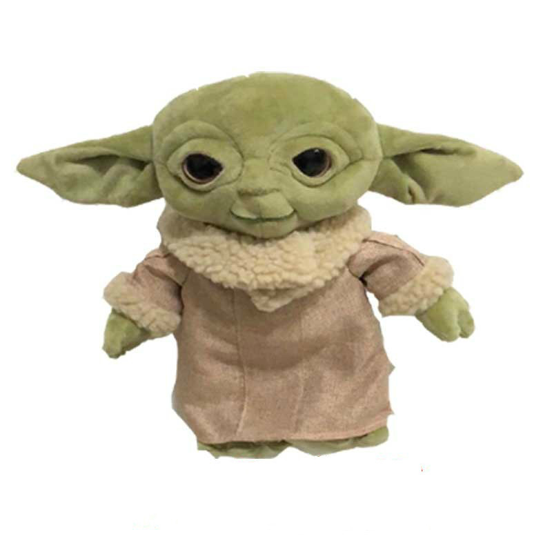 30cm Baby Yoda Plush Toys Soft Yoda Animals Stuffed The Mandalorian Doll Toy Kids Gift Dropshipping