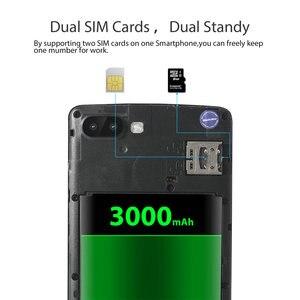 "Image 3 - Blackview Original A20 Smartphone 5.5 ""1 GB + 8GB MTK6580M Quad Core Android GAAN 18:9 Screen 3G Dual SIM Mode Slanke Mobiele Telefoon"