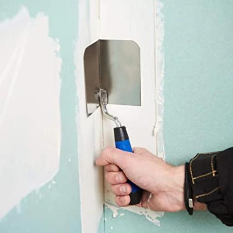 Flexões para Perfeito Mintiml Canto Borracha Espátula Drywall Ferramenta 90 Graus Aperto Ergonômico Mod. 298748