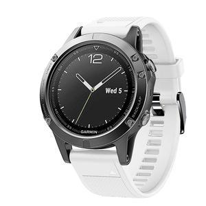 Image 4 - 20 22 26mm Silikon Sport Silikon Armband Armband für Garmin Fenix 5X 6X Pro 5 6 935 5s plus 6s 3 3HR Uhr Easyfit Handgelenk Band