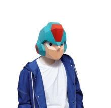 Бумажная маска 3d ригар костюм косплей своими руками модель