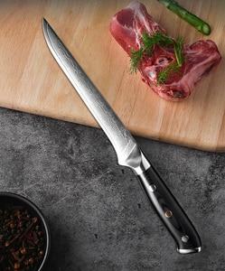 Image 4 - XITUO מטבח שף סכין סט VG10 דמשק פלדה 67 שכבה פרוסות Nakiri Kiritsuke סושי סכין עצם יפני סכין בישול כלים