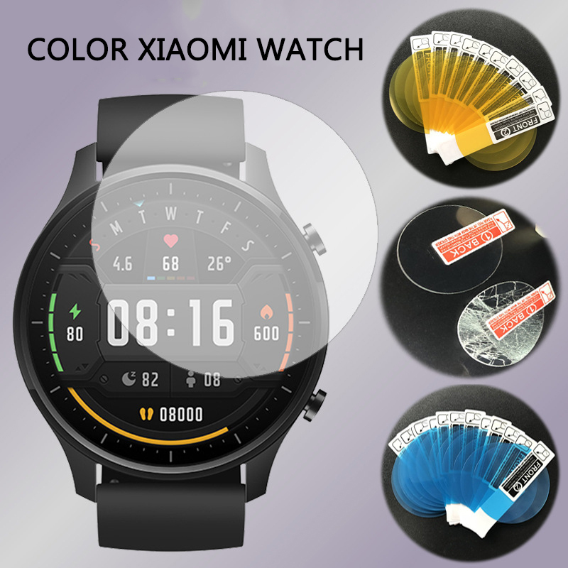 Новейшая полноразмерная мягкая защитная пленка для смарт часов Xiaomi Mi, цветная спортивная версия, защита экрана смарт часов|Смарт-аксессуары|   | АлиЭкспресс