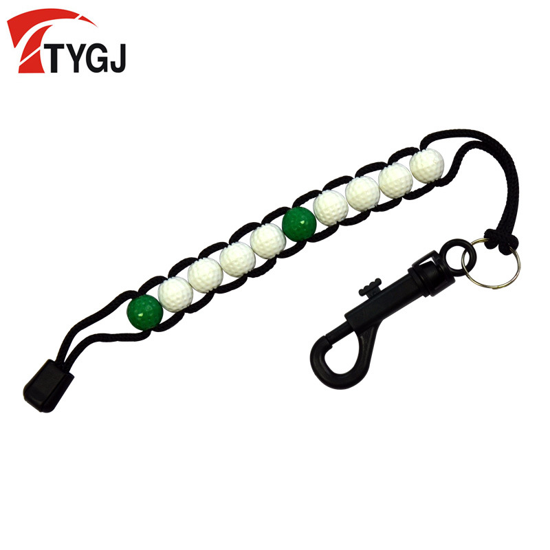 Ttygj Golf Scoring Device Golf Scoring Beads Beginner BEEKING Supplies Simple And Convenient