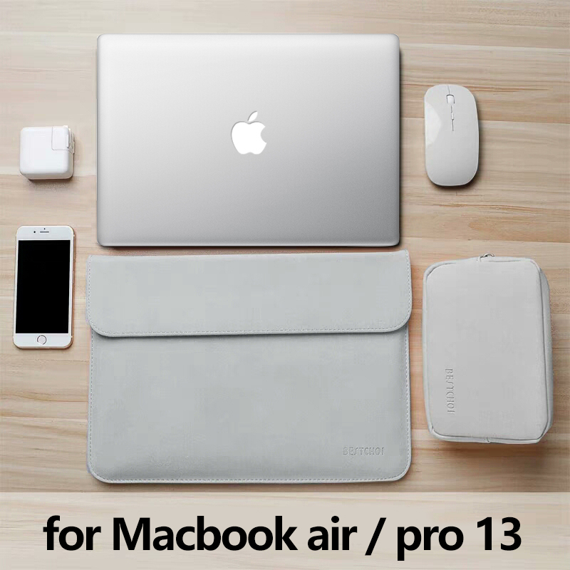 13.3 Inch New Laptop Bag For Macbook Air 13 Sleeve A1932 Laptop Case For Funda Mac Pro 13 A1708 Retina Waterproof Matte Cover