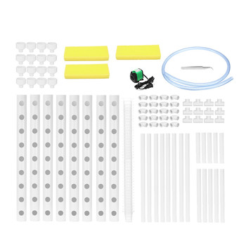 220v plant hydroponic systems grow kit 72 holes nursery pots anti pest soilless cultivation indoor garden culture