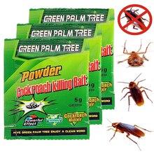 1Pac зеленый лист порошок таракан убить приманку инсектицид репеллент русский таракан убийца отпугиватель ловушка борьба с вредителями порошок Прямая поставка