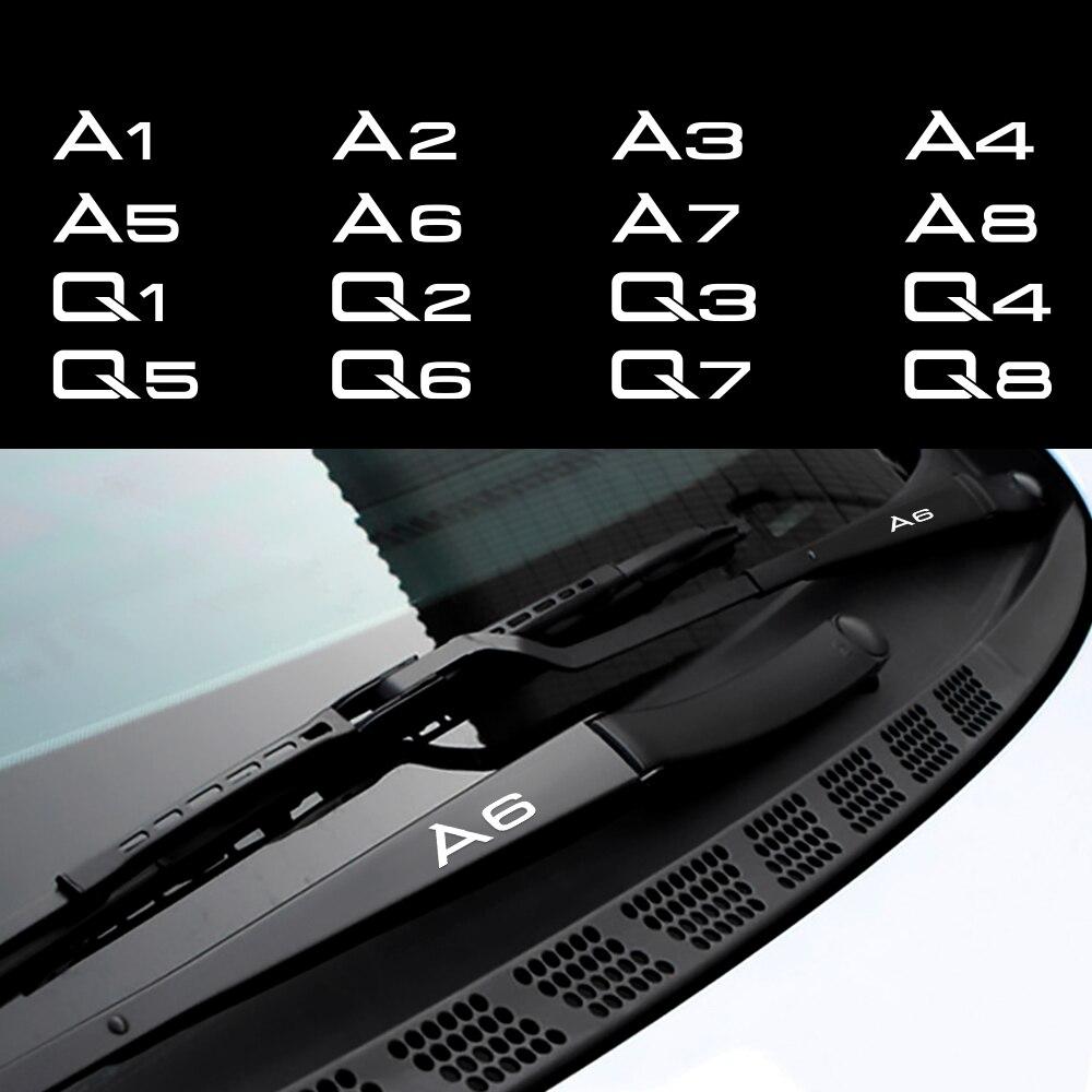 Для Audi A1 A2 A3 A4 A5 A6 A7 A8 Q1 Q2 Q3 Q4 Q5 Q6 Q7 Q8 двери автомобиля Наклейка на ручку стеклоочистителя зеркало наклейки автомобильные наклейки для тела акс...