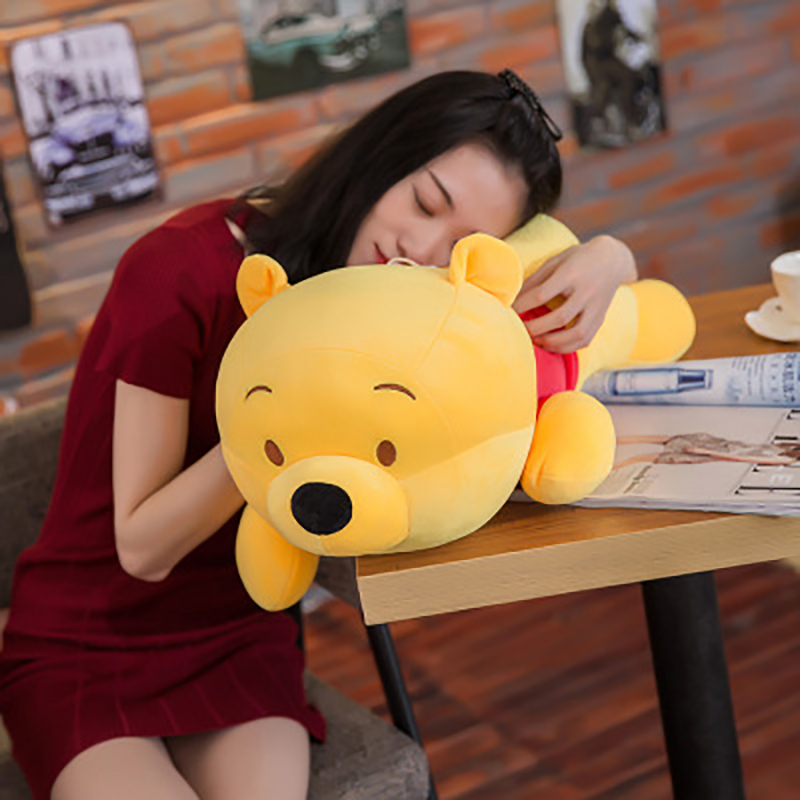 Image 3 - 45cm Cute Winnie the Pooh Plush Animal Stuffed Toy Body Pillow Cotton Doll Birthday Christmas Present Children boy Girl Toy-in Plush Pillows from Toys & Hobbies