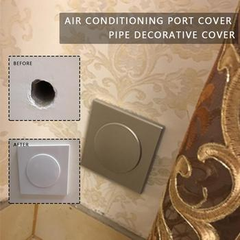 6 Types Plastic Wall Wire Hole Cover Air-conditioning Dust Pipe Grommet Protector Furniture Plug Decorative Cable Hardware I9Q6