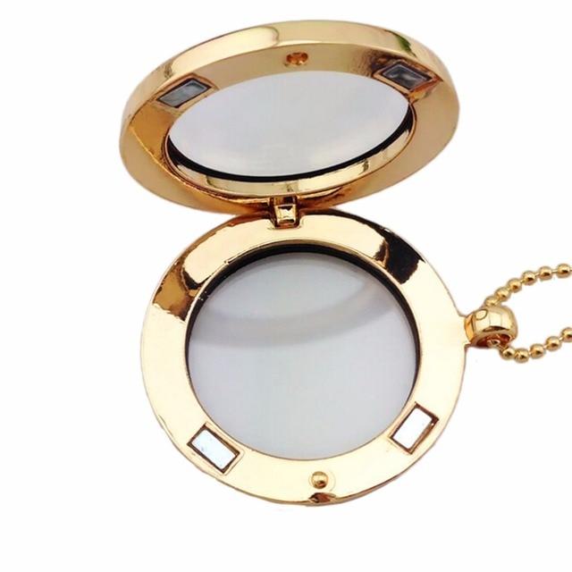 30mm rond magnétique verre médaillon breloques mémoire Photo médaillon 4 couleurs 2 Styles