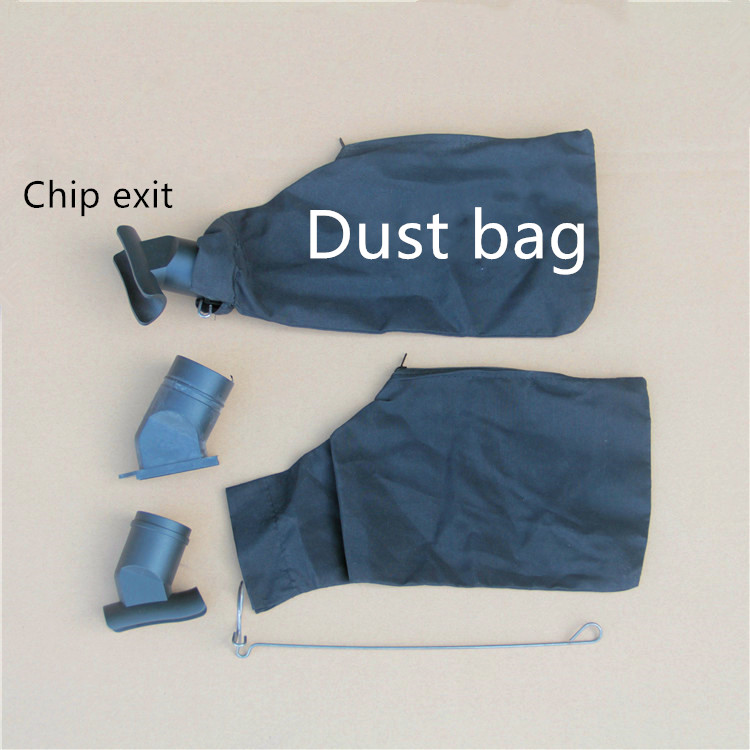 Free Shipping With The United States 255 Aluminum Sawing Machine Outlet Dust Bag