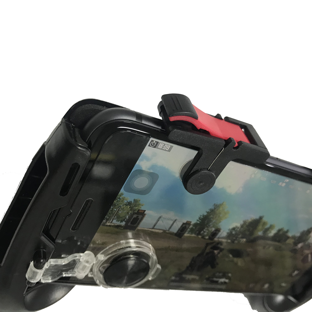 Image 3 - PUBG Moible Controller Gamepad Free Fire L1 R1 Triggers PUGB Mobile Game Pad Grip L1R1 Joystick for iPhone Android Phone-in Gamepads from Consumer Electronics