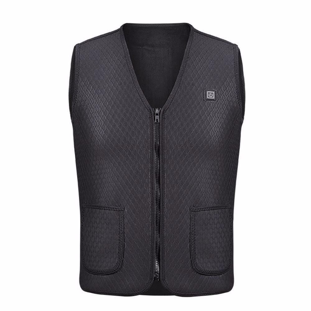 Heated rechargeable winter vest 5