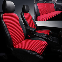 5 kits  Car Seat Cover Auto seat covers Winter linen cushions four seasons universal cover car protector