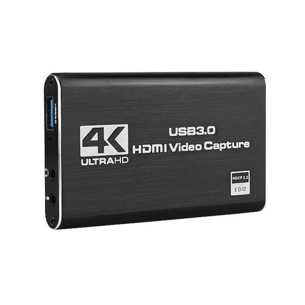 4K Game Video Capture Card USB3.0 1080P Grabber Dongle HDMI-compatible capture card for OBS Capturing Game Capture Card Live 2