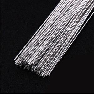 Алюминиевый сварочный электрод, низкотемпературный сварочный электрод 500 мм с сердечником из магнитного алюминия с сердечником из флюса, ...