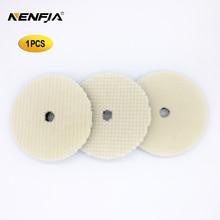 6 Polegada japão lãs almofada de polimento para carro polisher almofada kits lã acabamento polimento almofada