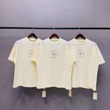 Saison 6 abricot T-shirt ample Kanye West & VOUS présente dimanche Service T-shirt hommes femmes bonne qualité haute rue coton T-Shirts