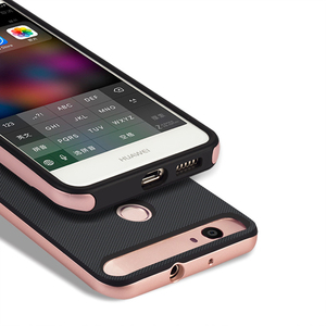 Image 5 - Luxus 3D Ständer Funda für Huawei Nova CAN L11 CAZ AL10 Hybrid Fall Silikon Abdeckung 5,0 TPU + PC 360 Schutz Mobile telefon Tasche