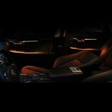 Lsrtw2017 для Lexus NX NX200 200t NX300h Автомобильная Внутренняя дверь, атмосферный светильник, декоративная интерьерная молдинги, аксессуары