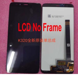 """Image 2 - 100% Original Best Working LCD Display Touch Panel Screen Digitizer Assembly With Frame For Lenovo K320t 5.7"""" Phone Sensor Parts"""