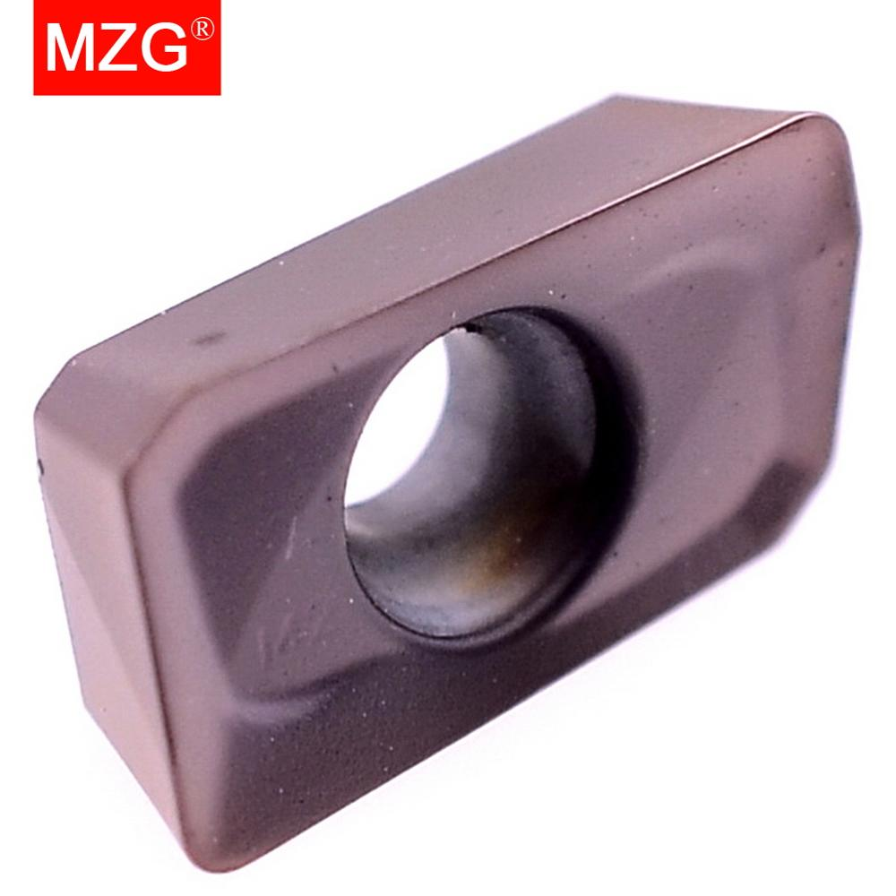 Купить с кэшбэком MZG Discount Price APMT1135PDER-M2 ZP1521 CNC Machine Tools Carbide End Milling Cutter Inserts for Stainless Steel Processing