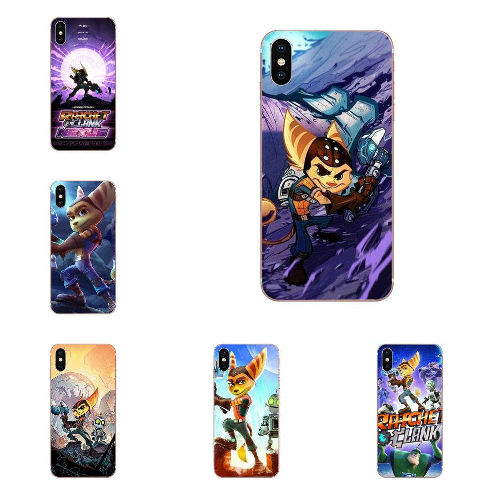 Game Ratchet And Clank Soft Phone Case Cover For Huawei Honor Mate Nova Note 20 20s 30 5 5I 5T 6 7I 7C 8A 8X 9X 10 Pro Lite Play image
