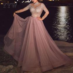 Новое сексуальное прозрачное длинное расшитое блестками длинное вечернее платье без рукавов элегантное женское вечернее платье robe de soiree ...