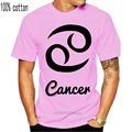Shirt T Shirt Regular Short Mens Cancer Zodiac Star Sign Birthday Horoscope Crab Water Love Hug Tee Shirt