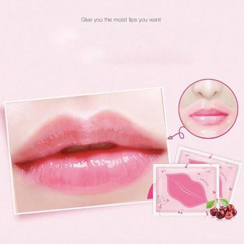 1 Pcs Cherry Moisturizing Lip Mask Moisturizing And Color-enhancing Lip Mask Anti-chapped Lip Care image