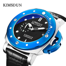 2019 Luxury Relogio Masculino Watch Men Brand   Casual Business Big Dial Leather Strap Waterproof Sports Luminous Quartz Watch все цены