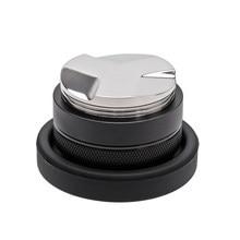 Distribuidor y manipulador de café de 53mm, nivelador de café de doble cabezal se adapta a 54mm Breville Portafilter, Tampers de mano profesionales de Espresso