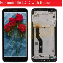 Original For Motorola Moto E6 LCD Display Touch Screen Digiziter Assembly For Motorola Moto E lcd 6th Gen lcd