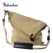 women Canvas bag Deformable Crossbody bag for women tote