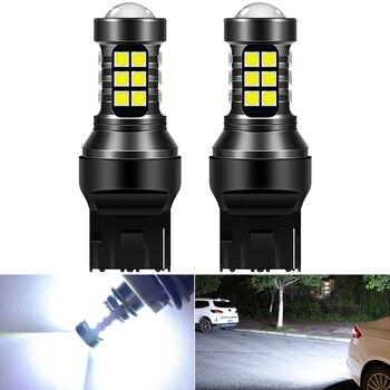 12V T15 W16W светодиодный 921 912 7440 BA15S супер яркий 27 SMD 4014 светодиодный Canbus без ошибок автомобиля резервного копирования стоп резервный светильник фонарь стоп сигнала, белый цвет|Сигнальная лампа|   | АлиЭкспресс