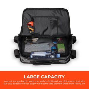 Image 3 - KEMiMOTO Overhead Storage Bag For Can Am Maverick X3 UTV Bag Over head Roof tent Bag 2017 2018 2019 2020 2021