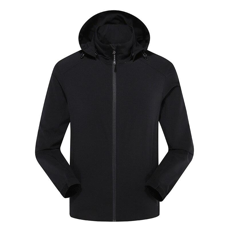 2019 New Men's Jackets Softshell Hoodies Jacket Coat Outdoor Sport Clothes Waterproof Windproof Winter Jacket