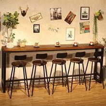 Недорогой современный деревянный металлический высокий барный стол, простой домашний журнальный барный столик на стенке, боковые высокие барные столы