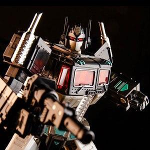 Image 4 - Dönüşüm KBB MP10V MP 10V OP komutanı G1 alaşım koleksiyonu Voyager kamyon modu Anime aksiyon figürü Robot çocuk oyuncak araba modu