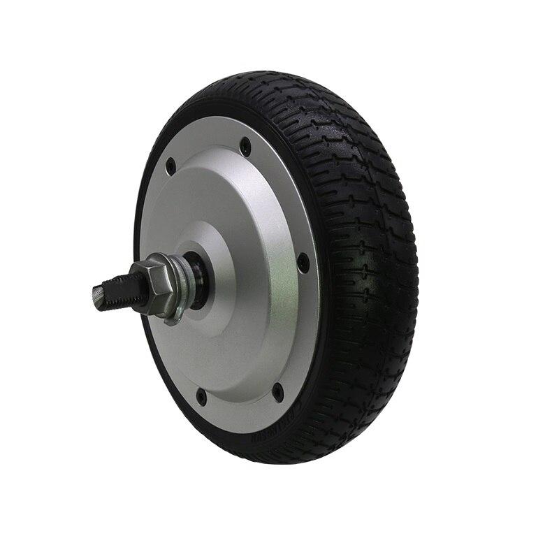 CE IP65 6,5 дюйма 36V 8N.m 350W 200 об/мин бесщеточный Электрический сервопривод ступицы колеса мотор с 4096 провода инкрементный датчик положения