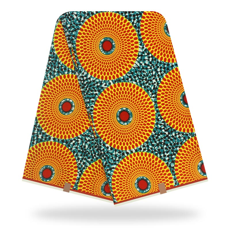 Wholesale Prices 2020 Latest 100% Cotton African Wax Fabric / Guaranteed Veritable Dutch Wax Nigerian Style