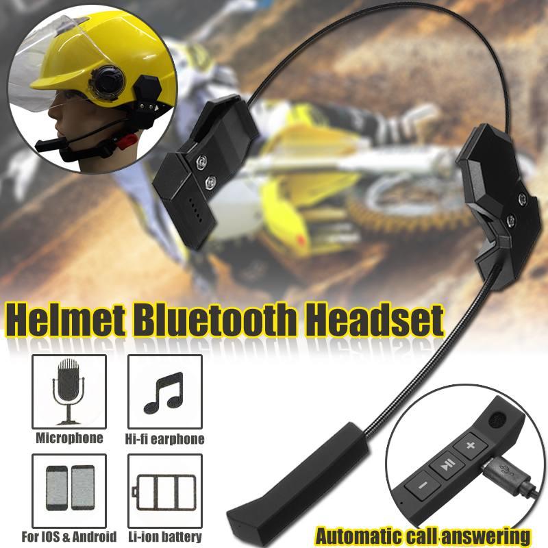Motorcycle Wireless Bluetooth Helmet Headset Helmet Intercom Speaker With Microphone Handsfree Stereo Headphones Earphone