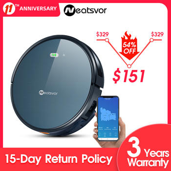 NEATSVOR X500 Robot Vacuum Cleaner 3000PA Poweful Suction 3in1 pet hair home dry wet mopping cleaning robot Auto Charge vacuum 1